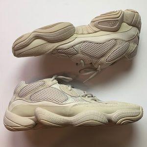 "Adidas Yeezy 500 ""Blush/Desert Rat"" sneakers Sz 13"